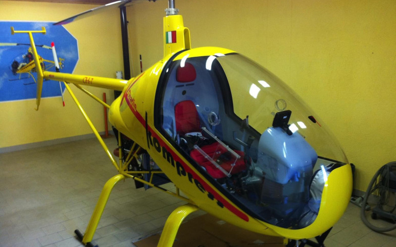 "Usato sicuro: ULM Helicopter CH-7 Kompress ""Charlie 2"""